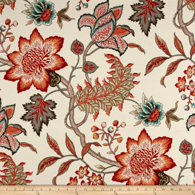 Waverly Sun N Shade Jacobean Flair Peachtini Outdoor
