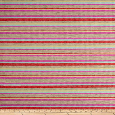 Sunformance Indoor/Outdoor Boardwalk Stripe ConfettiBasketweave