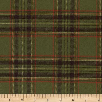 Marcus Primo Plaids Flannel Harvest Green