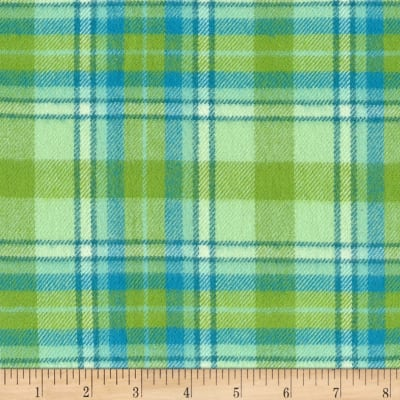 Marcus Primo Plaids Flannel Twilight Tones Green