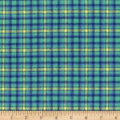 Marcus Primo Plaids Flannel Color Crush II Jade
