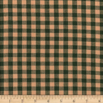 Rustic Woven 5/8 Check Green/Natural