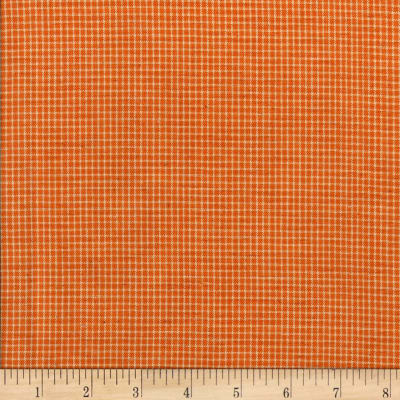 Rustic Woven Small Plaid Mustard/Ivory