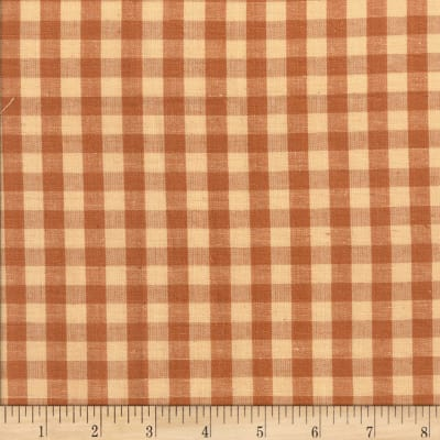 Rustic Woven 3/8 Check Lt Brown