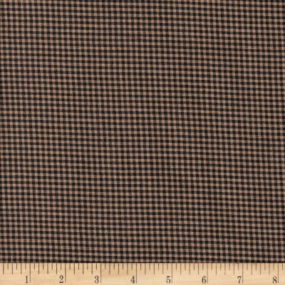Rustic Woven 1/16IN Nat/Blk Check