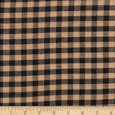 Rustic Woven 1/4IN Nat/Blk Check