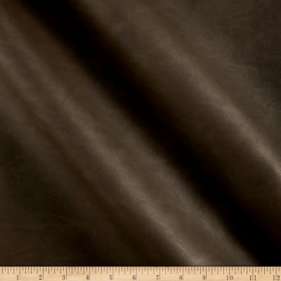 Swavelle Wyland Faux Leather Smokey Brown