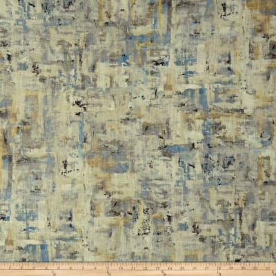 Swavelle Scavusso Abstract Barkcloth Iceberg