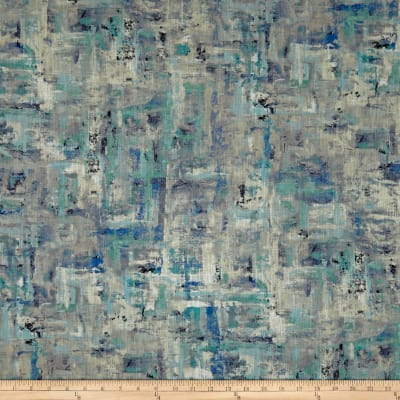 Swavelle Scavusso Abstract Barkcloth Oasis