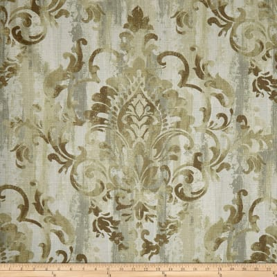 Swavelle Cauthen Damask Barkcloth Wheat