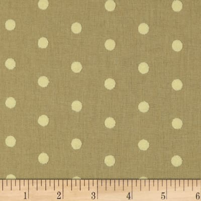 Covington Puff Dotty Basketweave Linen