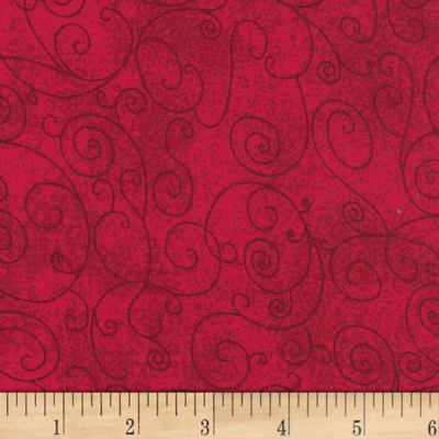 "Westrade 110"" Flannel Wide Backs  Willow Red"