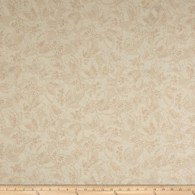 "Westrade 110"" Wide Backs Butterflies Beige"