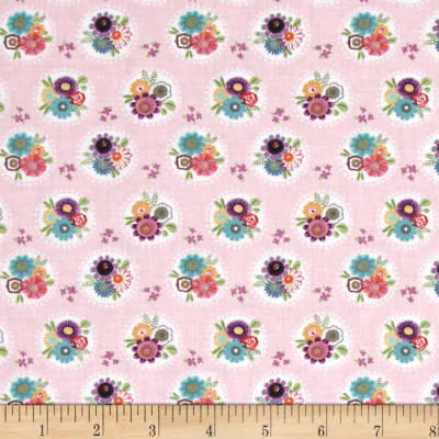 Sunshine Girls Bouquet Polka Pink