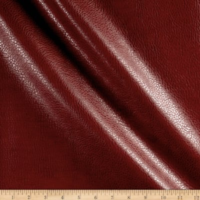 Rodeo Faux Leather Red