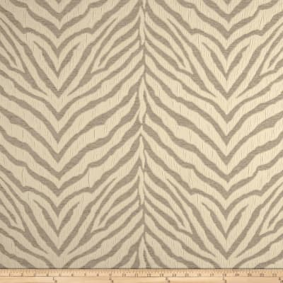 Tiger Striped Chenille Jacquard Cream