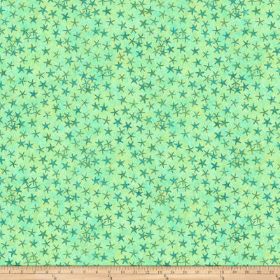 Shimmer Oasis Metallic Small Starfish Green