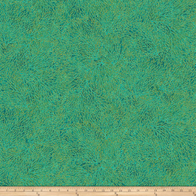 Shimmer Oasis Metallic Coral Teal