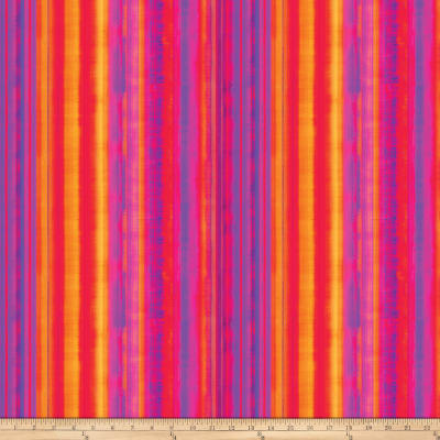 Strokes Of Brilliance Digital Stripes Pink