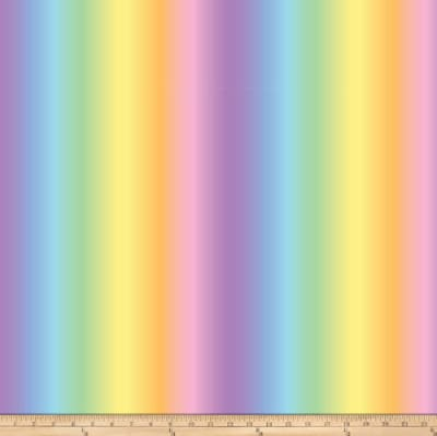 Unicorn Magic Rainbow Stripe Pink