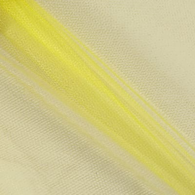 "72"" Wide Nylon Netting Lemon Yellow (Bolt, 40 Yards)"