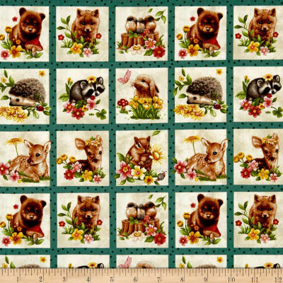 Forest Babies In The Portraits Cream/Multi