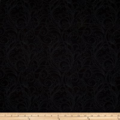 A Wildflower Meadow Meadow Scroll Black