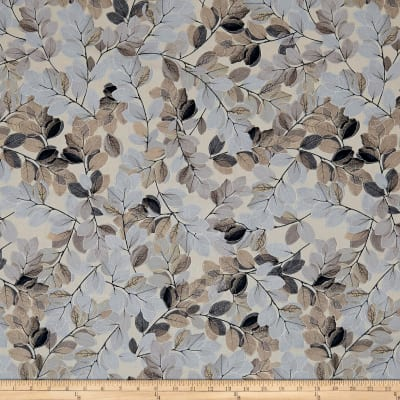 Kanvas Essence of Pearl Sheer Leaves Beige/Neutral Metallic