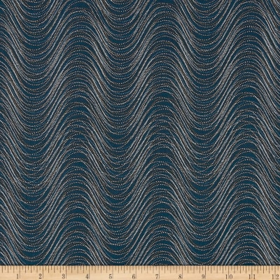 Kanvas Essence of Pearl Wind Wave Teal Metallic