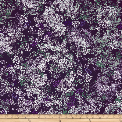 Kanvas Essence of Pearl Queen Anns Lace Purple Metallic Silver