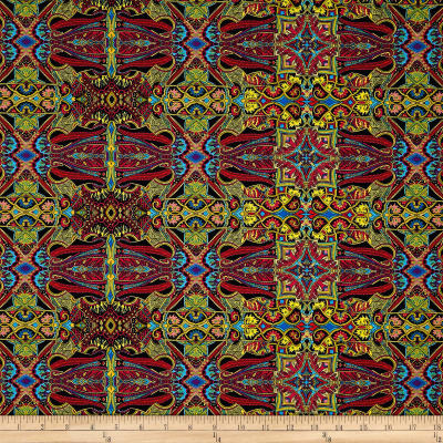 Wonderlust Tapestry Olive/Multi