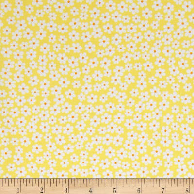 Kanvas Love Bunny Daisy Dot Lemon/White