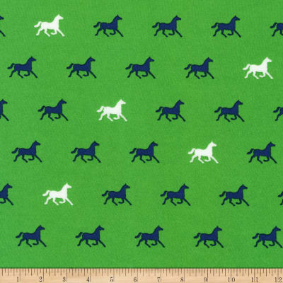 Kaufman London Calling Lawn Kelly Horses