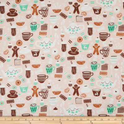 Gingerbread Bakery Chocolate Delights Light Pink