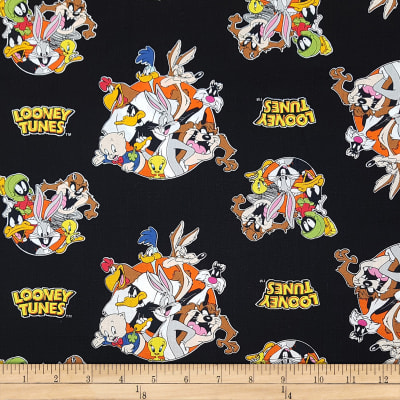Looney Tunes That'S All Folks! Black