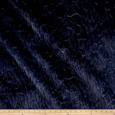 Richloom Callard Faux Fur Midnight