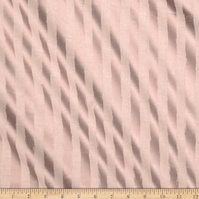 Riley Blake Blush Metallic Stripe Sparkle Pink