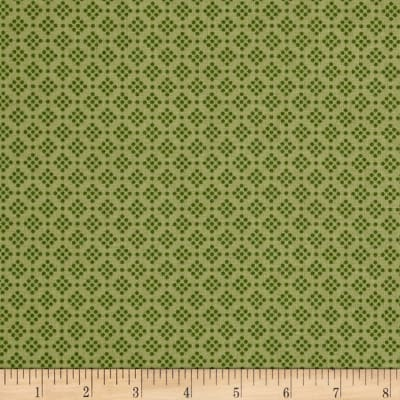 Riley Blake Grandale Dot Green