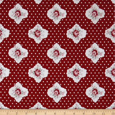 Penny Rose Rustic Romance Rustic Cameo Red