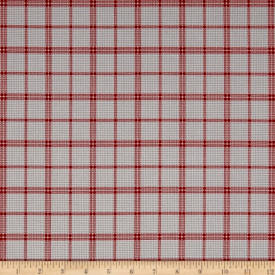 Penny Rose Rustic Romance Rustic Plaid Gray