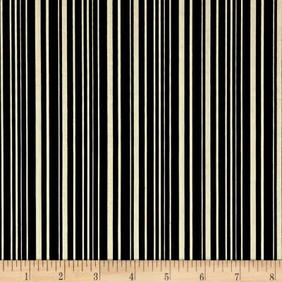 Riley Blake Haunted House Haunted Stripe Black