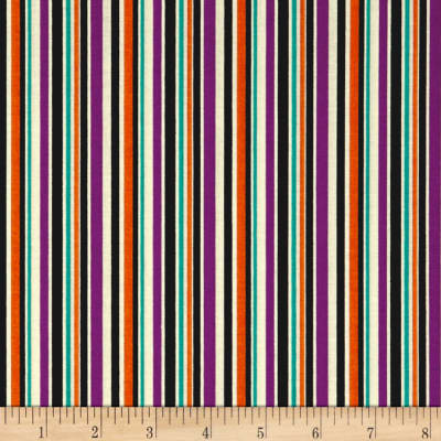 Riley Blake Haunted House Haunted Stripe Purple