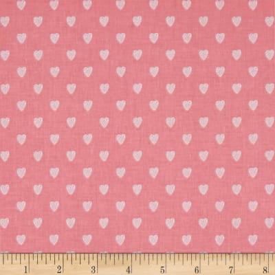 Riley Blake Love Story Love Hearts Pink