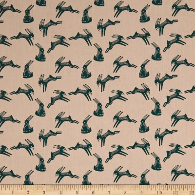Art Gallery Campsite Hopping Hare Blush/Teal