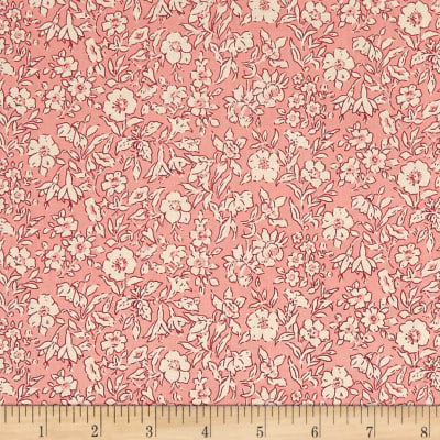 Liberty Fabrics The Cottage Garden Morning Dew Light Pink