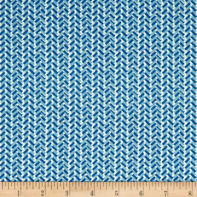 Liberty Fabrics The Cottage Garden Country Path Blue