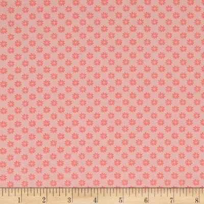 Liberty Fabrics The English Garden Floral Dot Y Pink