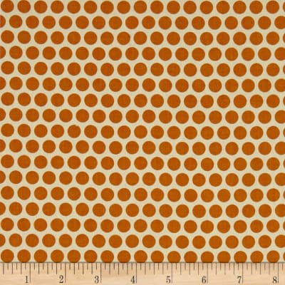 Birch Organic Mod Basics Dottie Color Orange