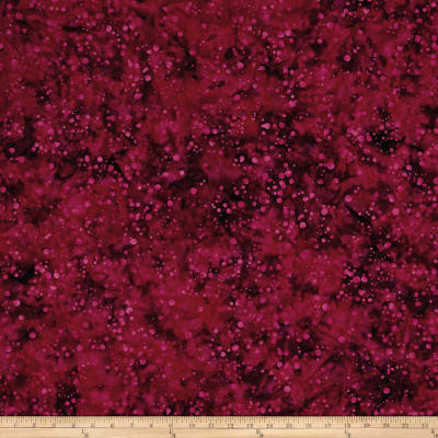 Blossom Batiks Valley Ink Dots Raspberry