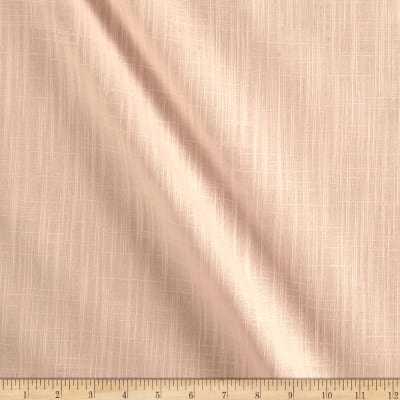 Slub Cotton Solid Peach Duck Melba